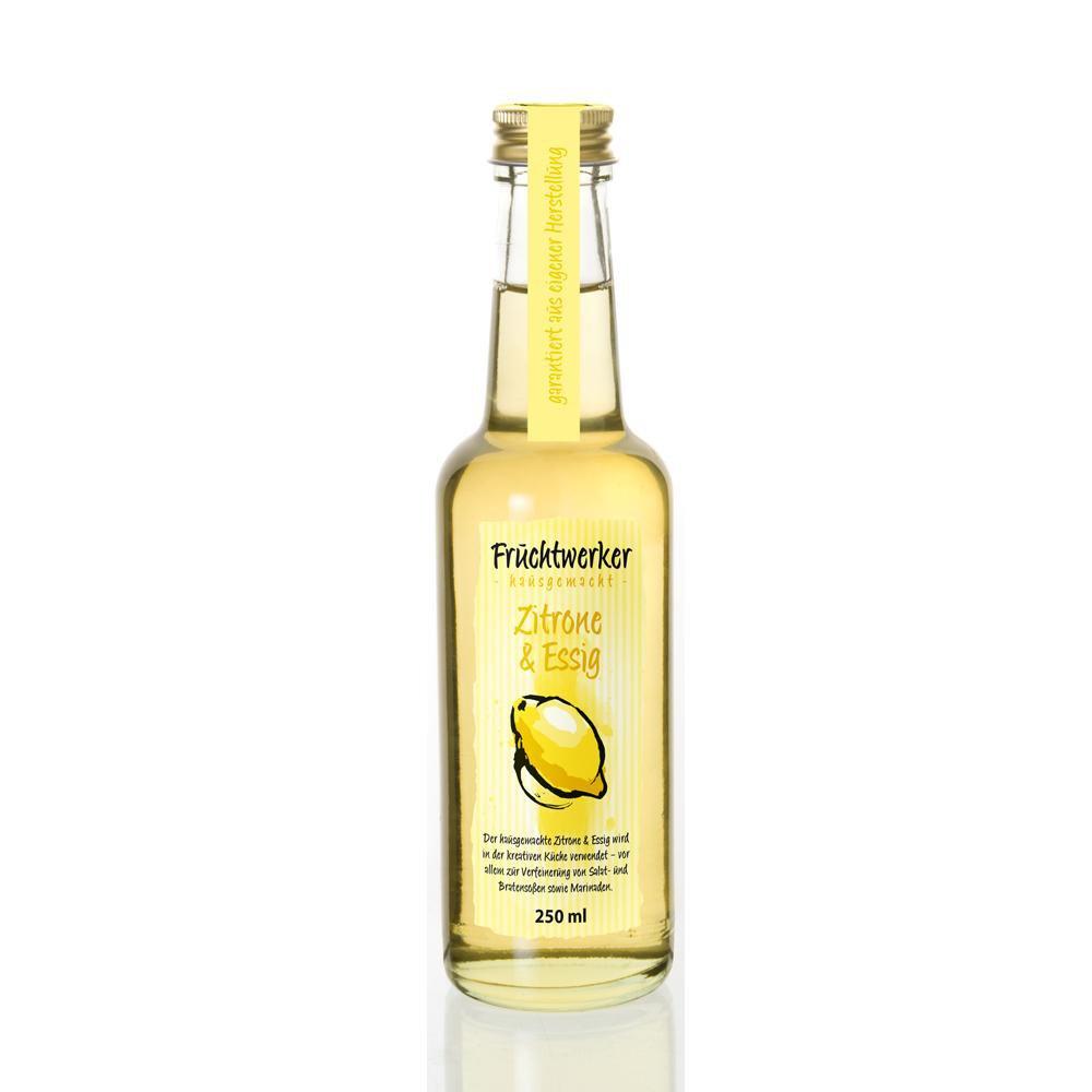 Fruchtwerker Zitrone & Essig hausgemacht 250ml