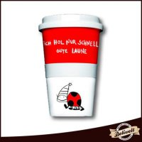 Coffee To Go Becher \'Gute Laune\'