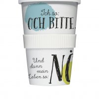 Coffee To Go Becher \'Nö\'