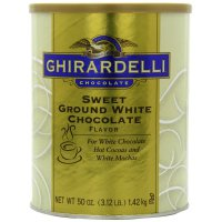 Ghirardelli Trinkschokolade Sweet Ground White Chocolate...