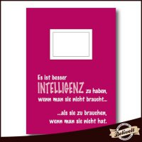 Kladde \'Intelligenz\'