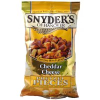 Snyder\'s of Hanover Pretzel Pieces \'Cheddar Cheese\' 125g