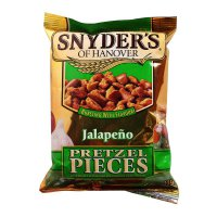 Snyder\'s of Hanover Pretzel Pieces \'Jalapeno\' 125g