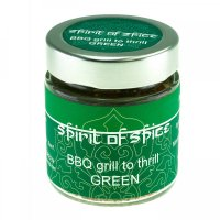 Spirit of Spice 'BBQ Grill to Thrill Green' 35g (MHD 11.2.19)
