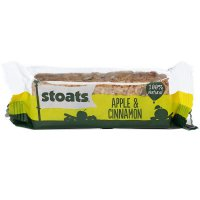 Stoats \'Apple & Cinnamon\' Haferflocken Riegel 50g
