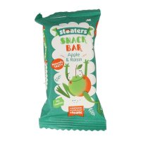 Stoats \'Stoaters Snackbar Apple & Raisin\' 30g