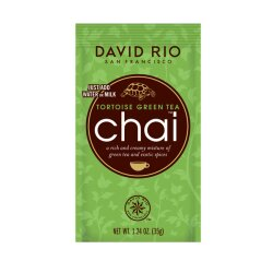 David Rio Chai Tortoise Green Tea 28g Portionsbeutel