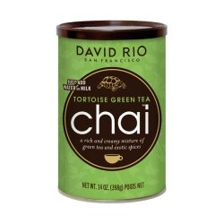 David Rio Chai Tortoise Green Tea 398g