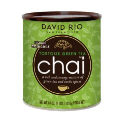 David Rio Chai Tortoise Green Tea 1.814g