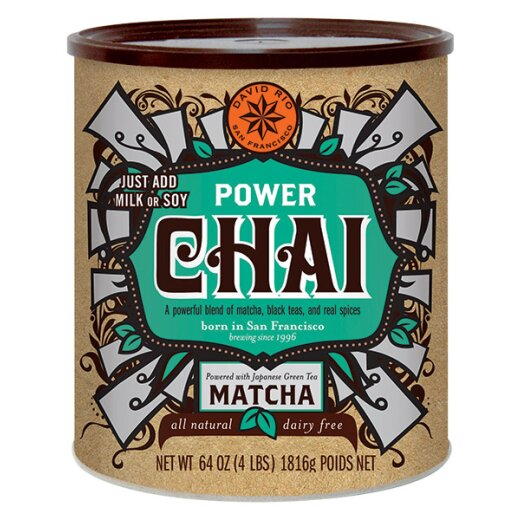 David Rio Power Chai mit Matcha 1.814g