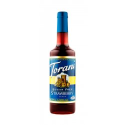 Torani Strawberry (Erdbeere) zuckerfrei 750ml