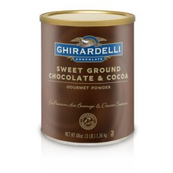 Ghirardelli Trinkschokolade Sweet Ground Chocolate and...
