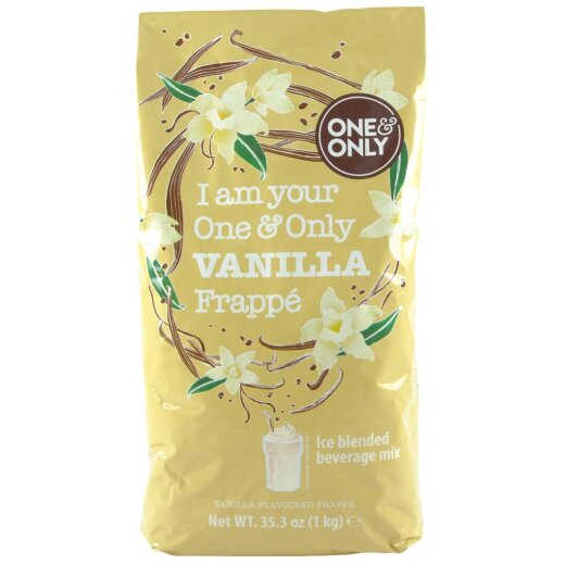 one&only Frappe Pulver Vanille 1000g