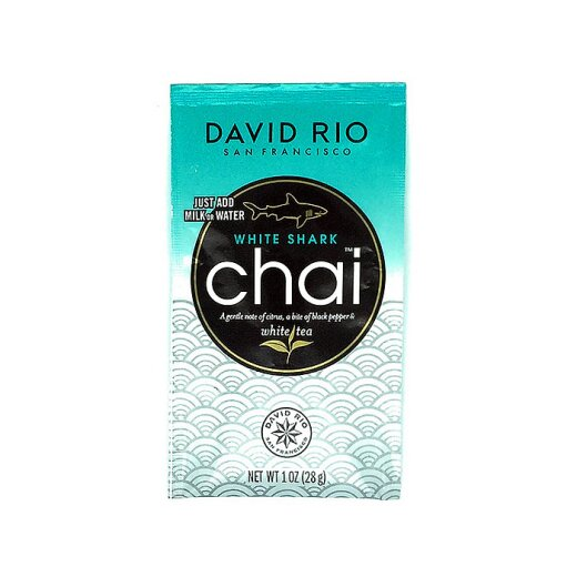 David Rio Chai White Shark 28g Portionsbeutel